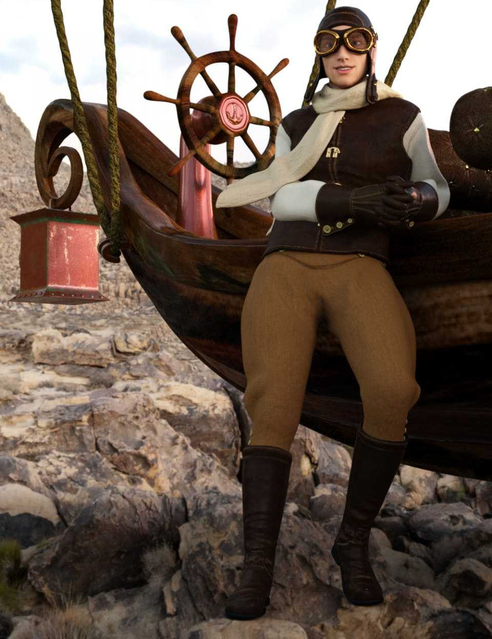 Pioneer Airman for Genesis 3 Male(s) and Female(s)