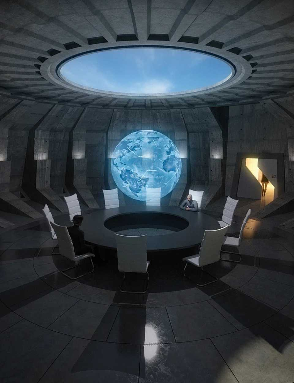 Supervillain Conference Room