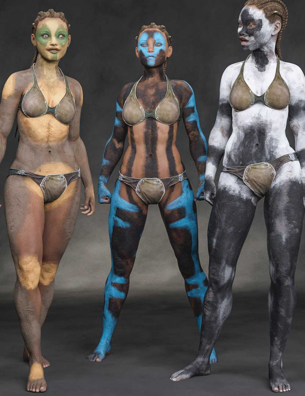 Aki Bodypaints Vol 2 for Genesis 8 Female(s)