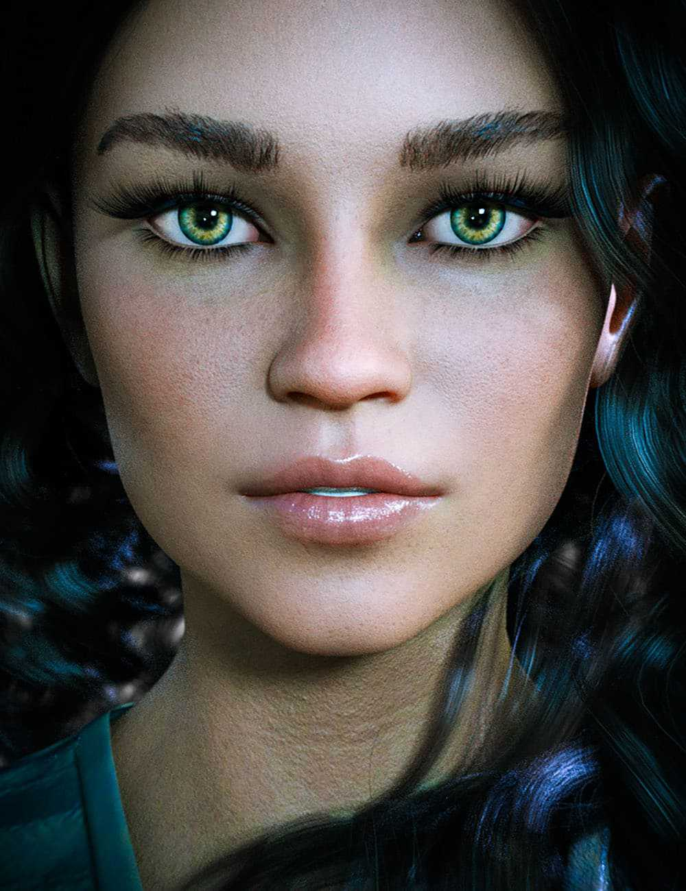 CB Bexley HD For Genesis 8 Female