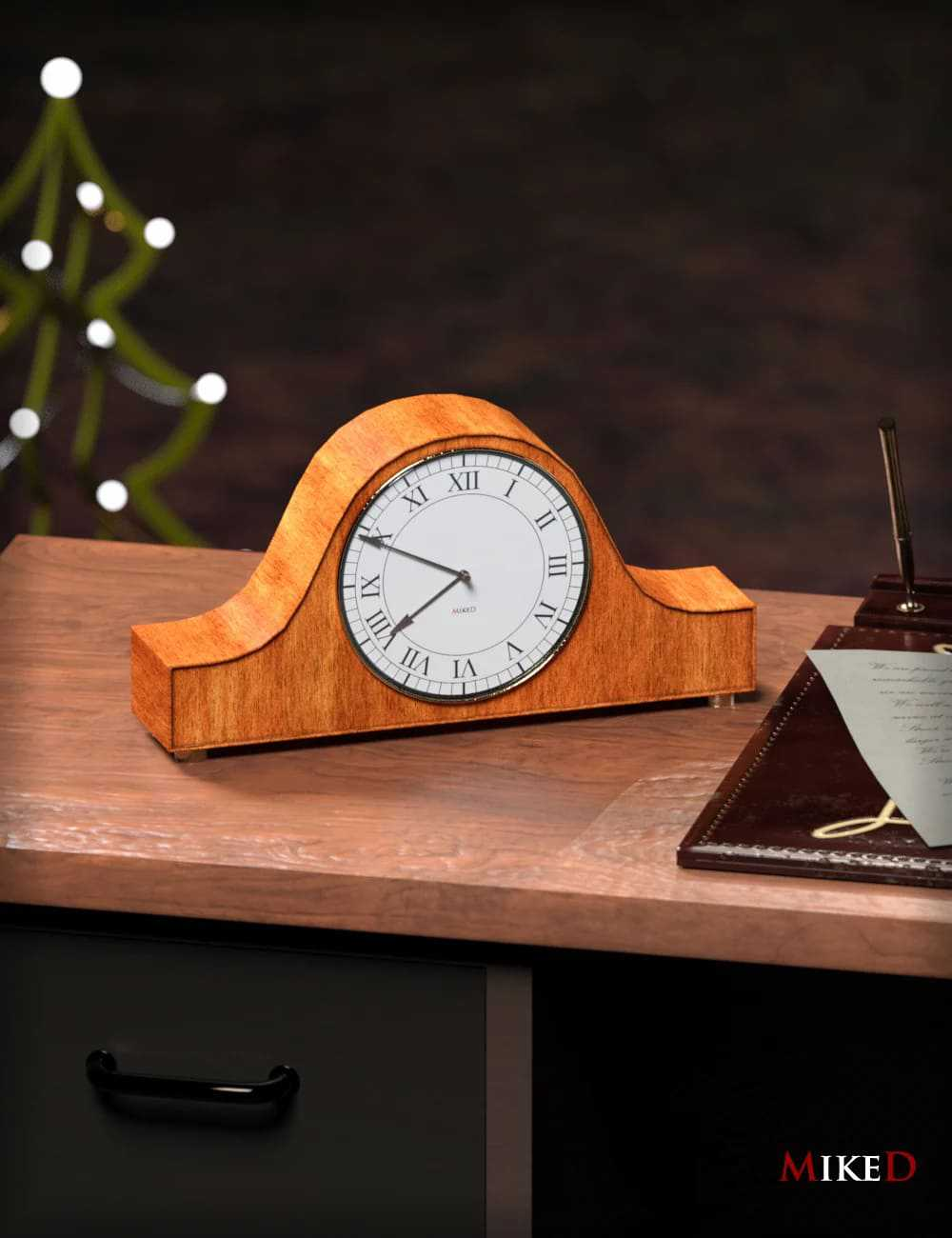 MD Table Clock