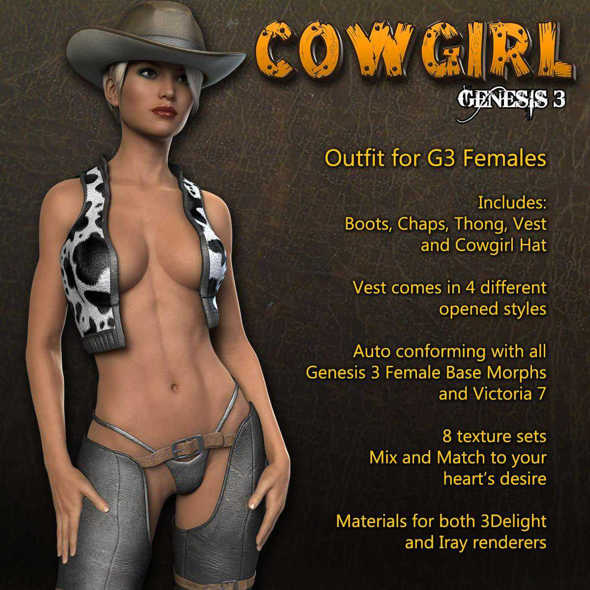 Exnem Cowgirl for G3 Female