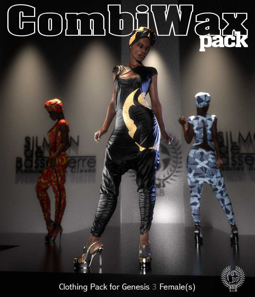 COMBIWAX Pack for Genesis 3 Females