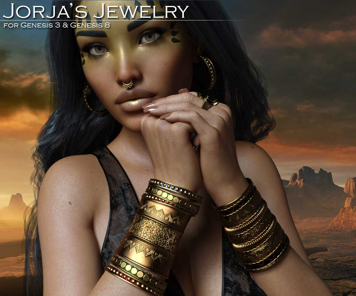 Jorja's Jewelry for the G3 and G8 Females