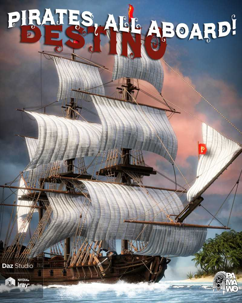 Pirates, All Aboard! Destino DS