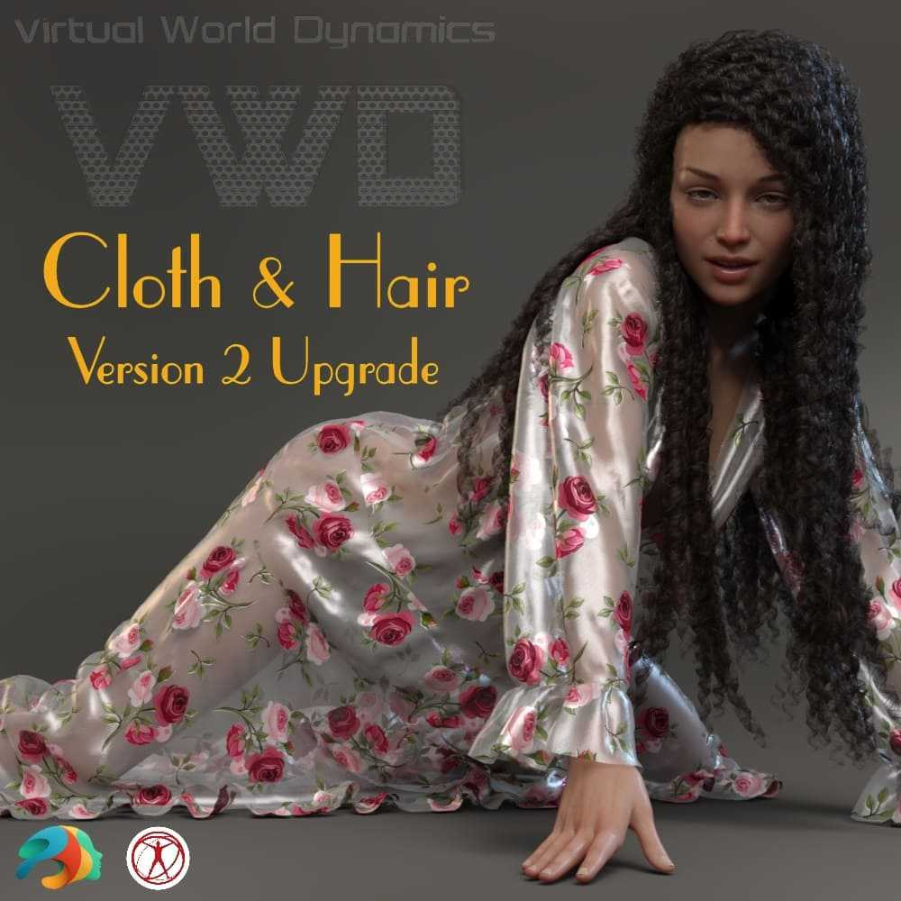 VWD Cloth and Hair - Version 2 - Upgrade Version
