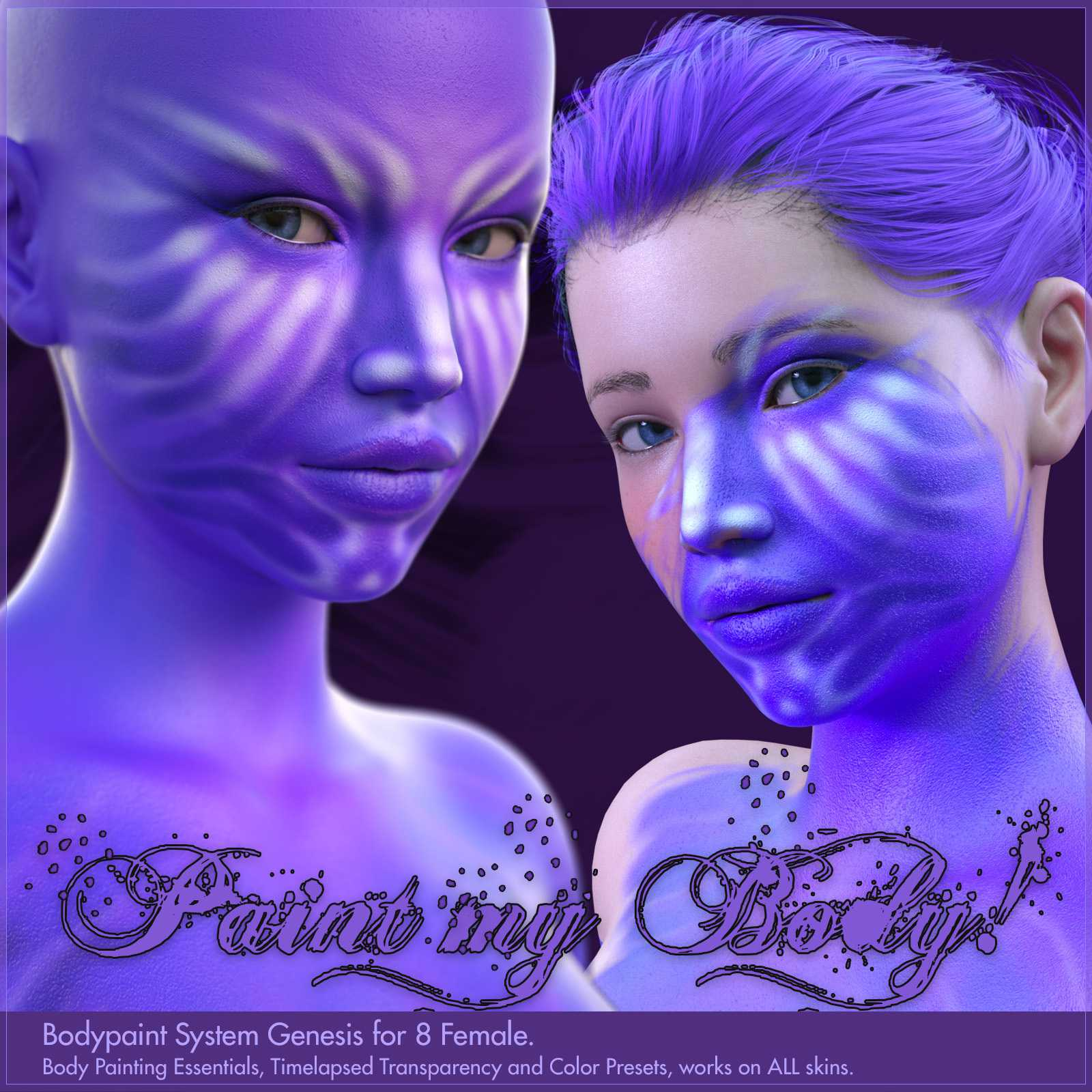 Bodypaint for Genesis 8 Female