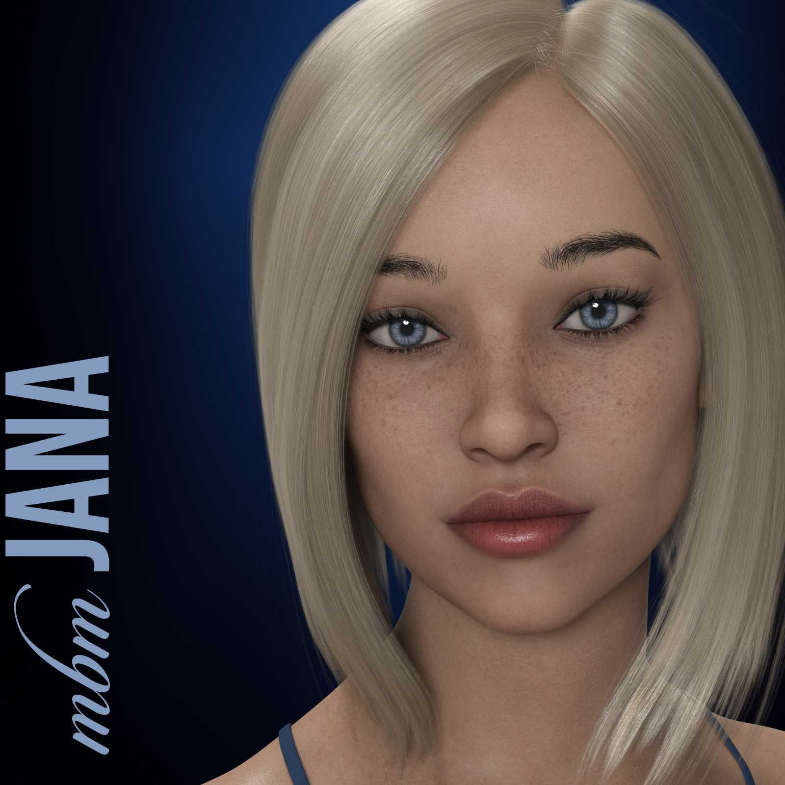 MbM Jana for Genesis 3 and 8 Female