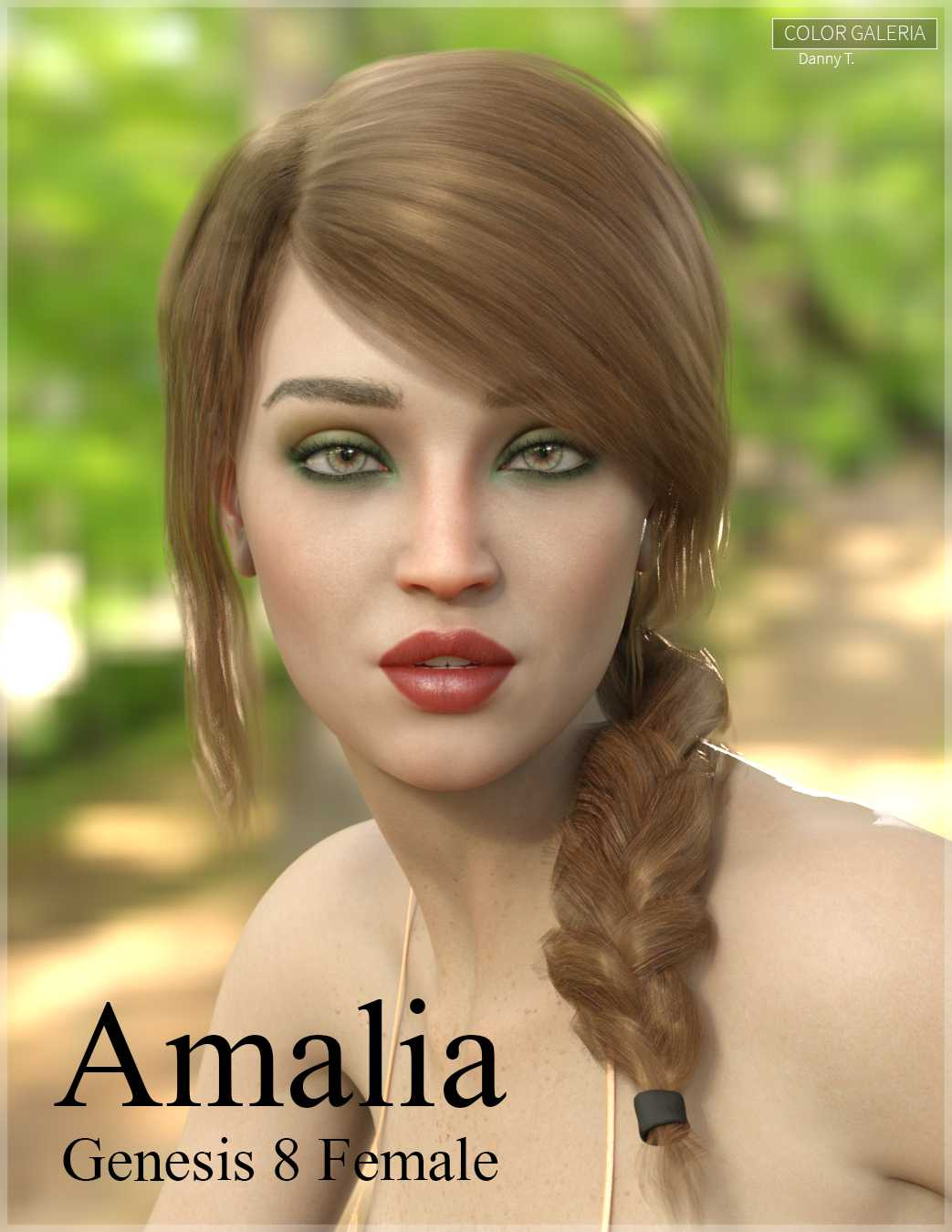 Amalia for Genesis 8 Female
