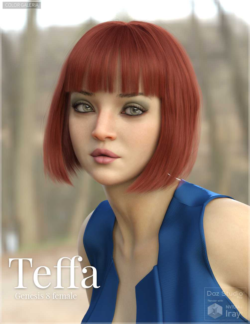 Teffa for Genesis 8 Female