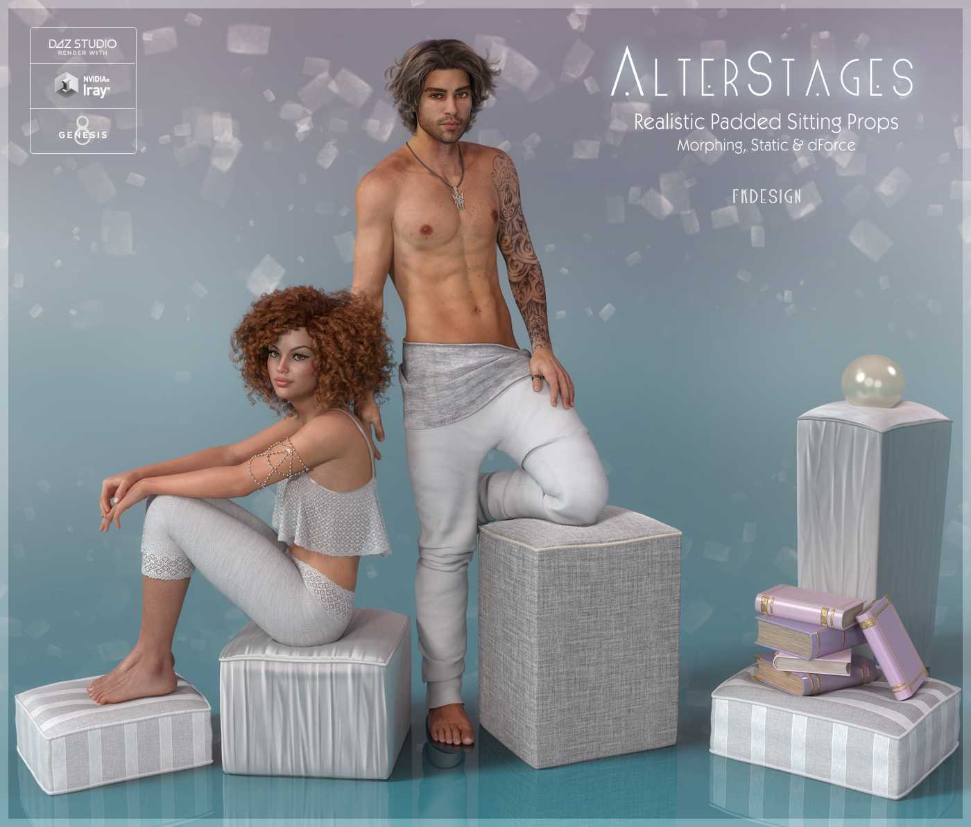 AlterStages – Padded Sitting Props