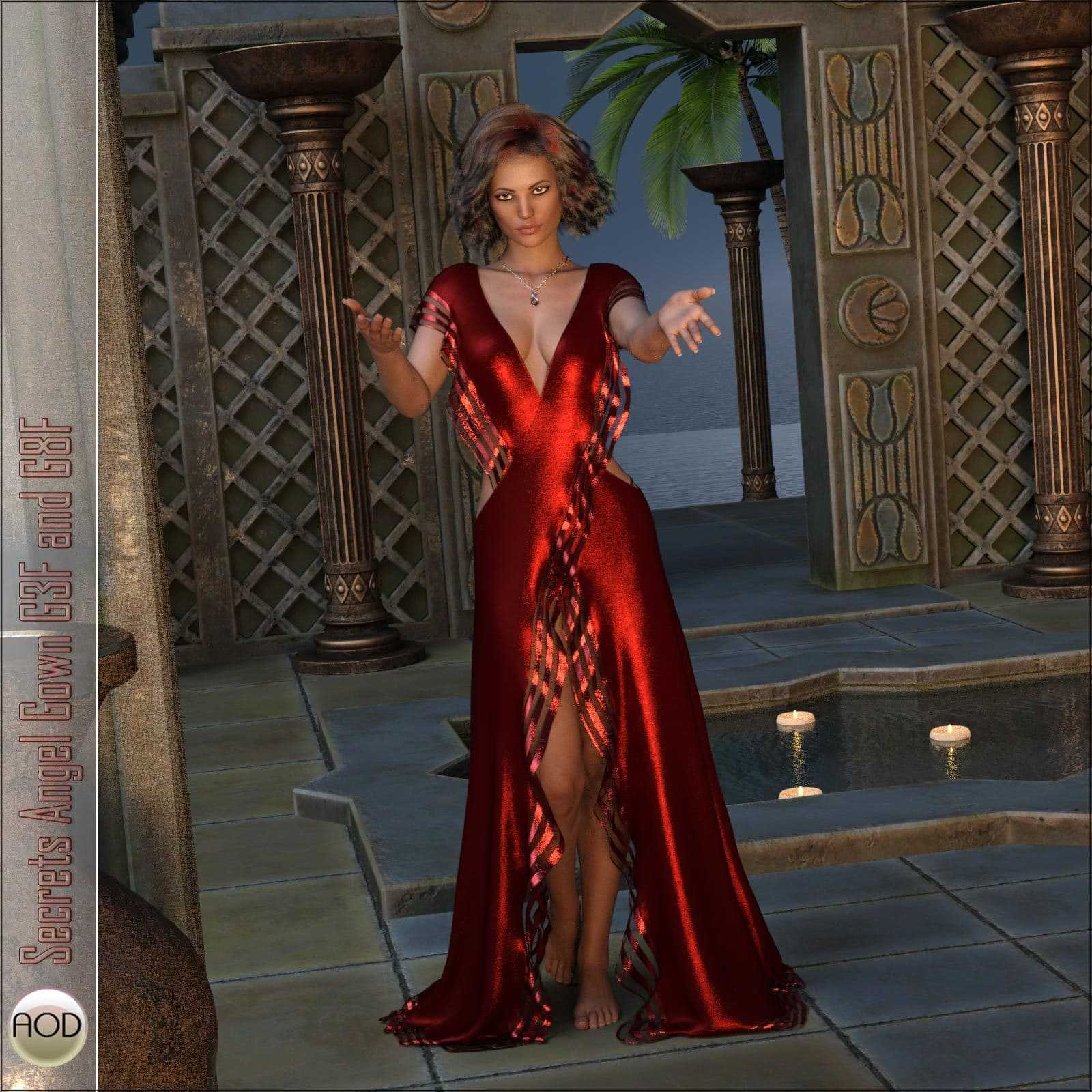 Secrets Angel Gown G3F and G8F