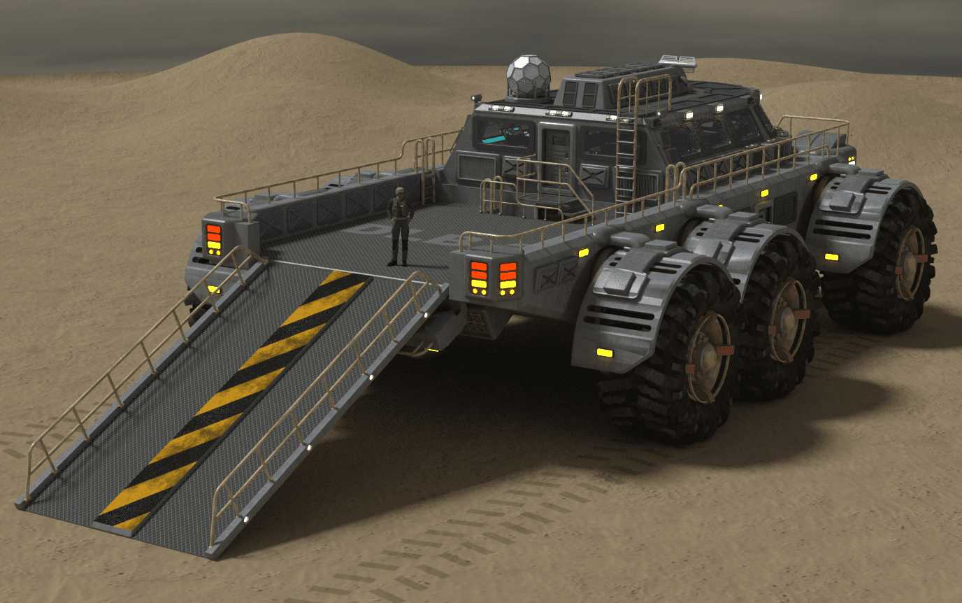 Landtrak Explorer Transportation Model