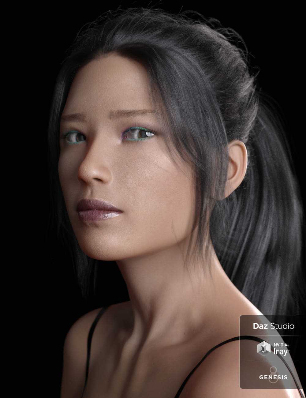 Kumi Leiko and Dress for Genesis 8 Females