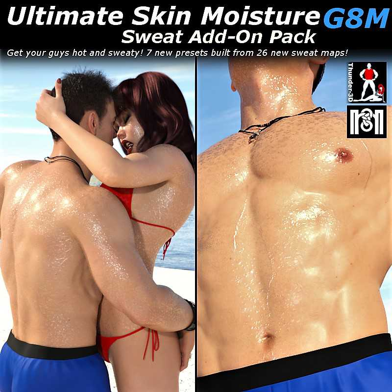 Ultimate Skin Moisture: Sweat ADD-ON G8F