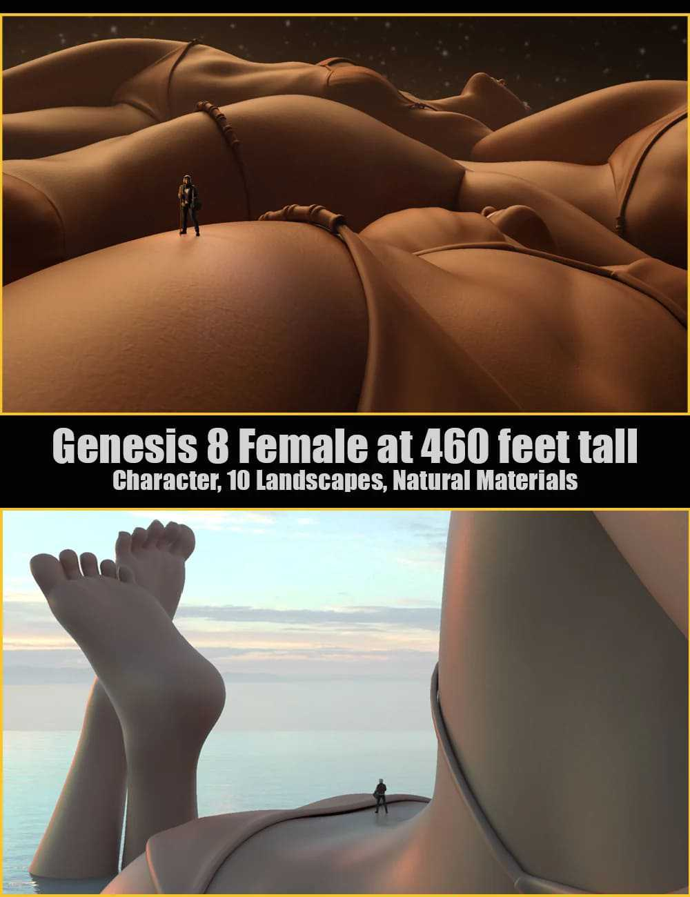 BodyScapes for Genesis 8 Female