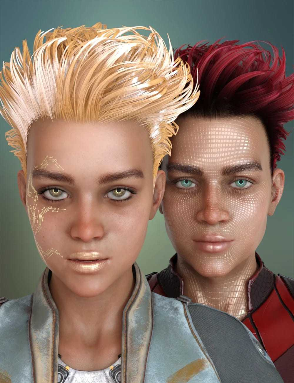 Clarity and Raze HD for Genesis 8 Female and Male