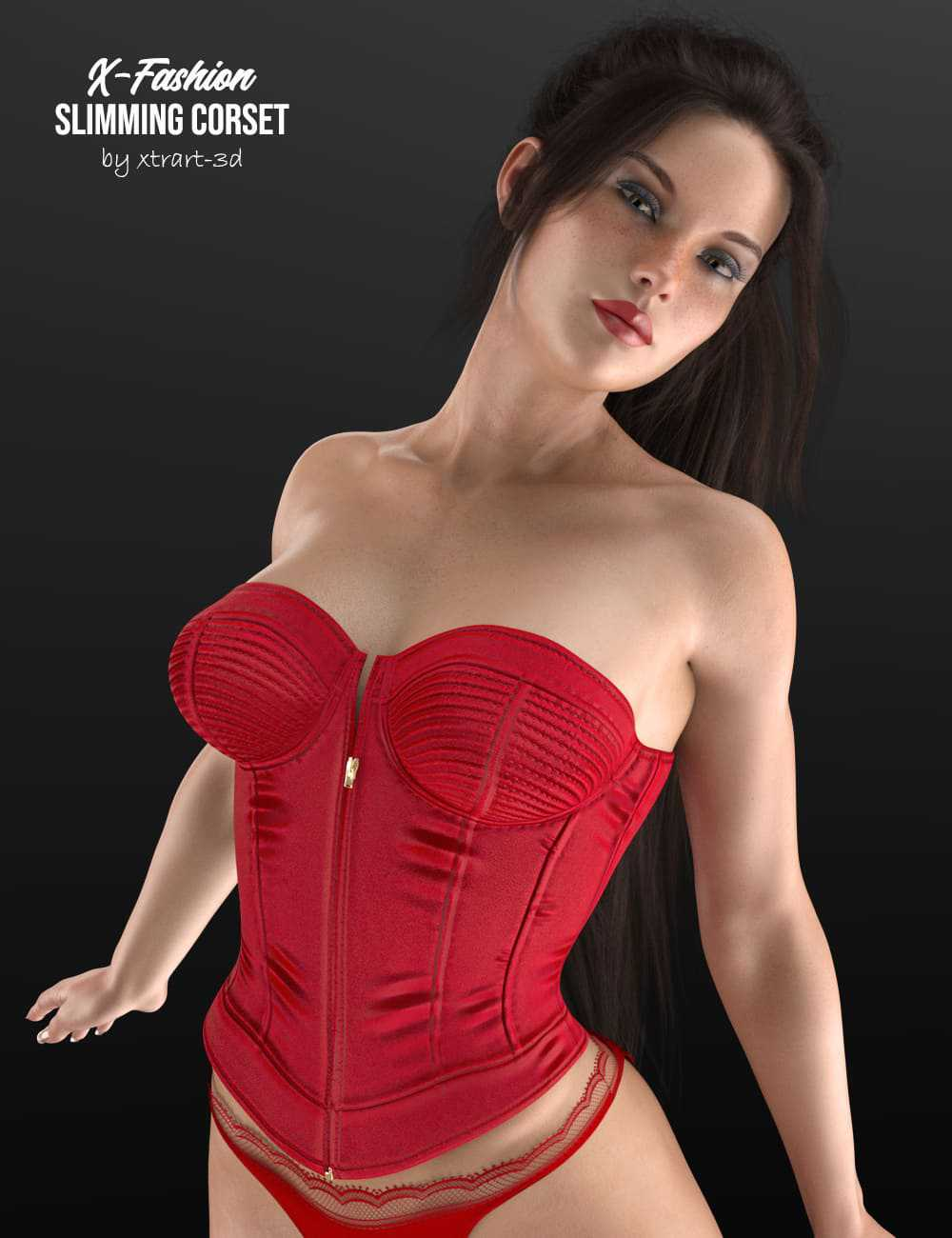 X-Fashion Slimming Corset for Genesis 8 Female(s)