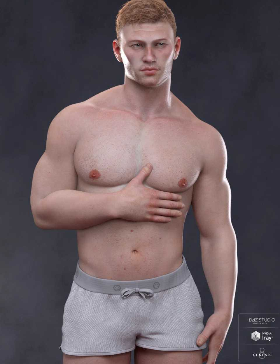 Alexei Materials for Scar 8 and Genesis 8 Male