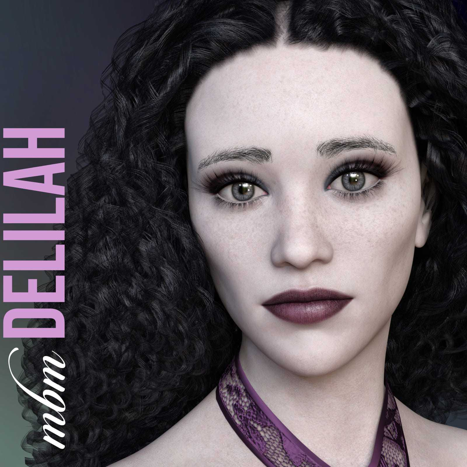 MbM Delilah for Genesis 3 & 8 Female