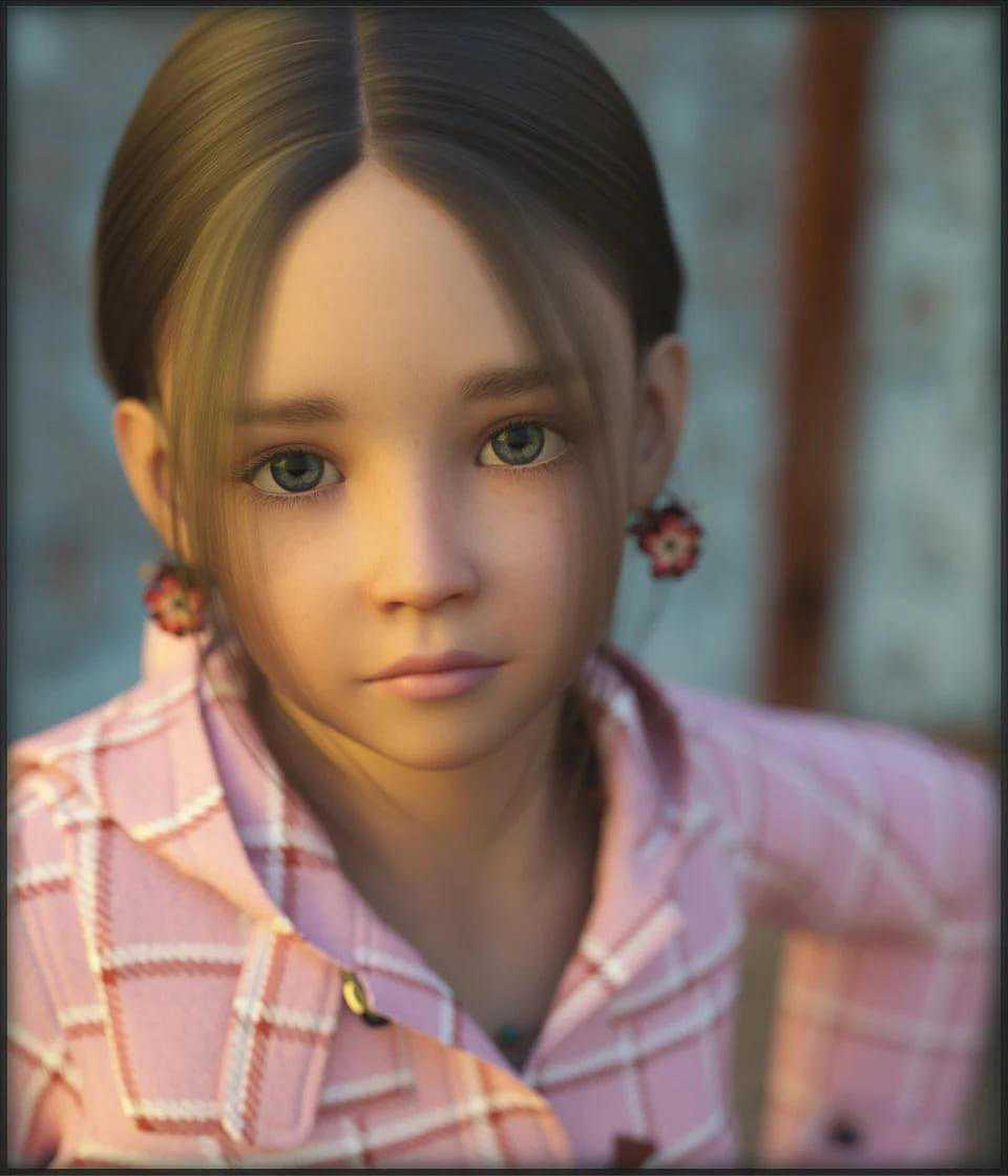 Chloe for Genesis 3 Female