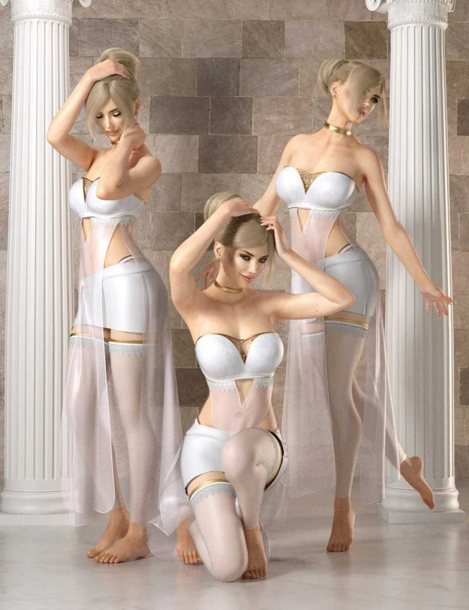Delicatesse Pose Set for Genesis 8 Female(s)