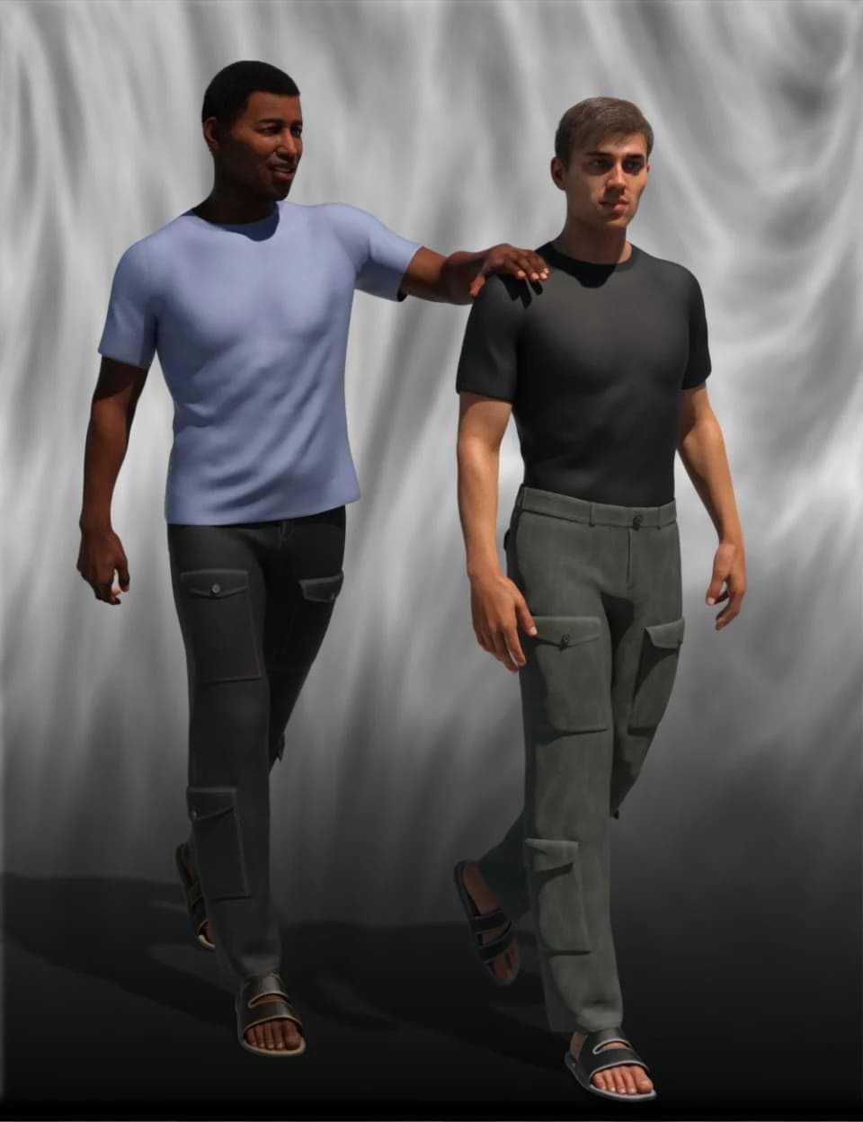 dForce Downtime Casual for Genesis 8 Male(s)