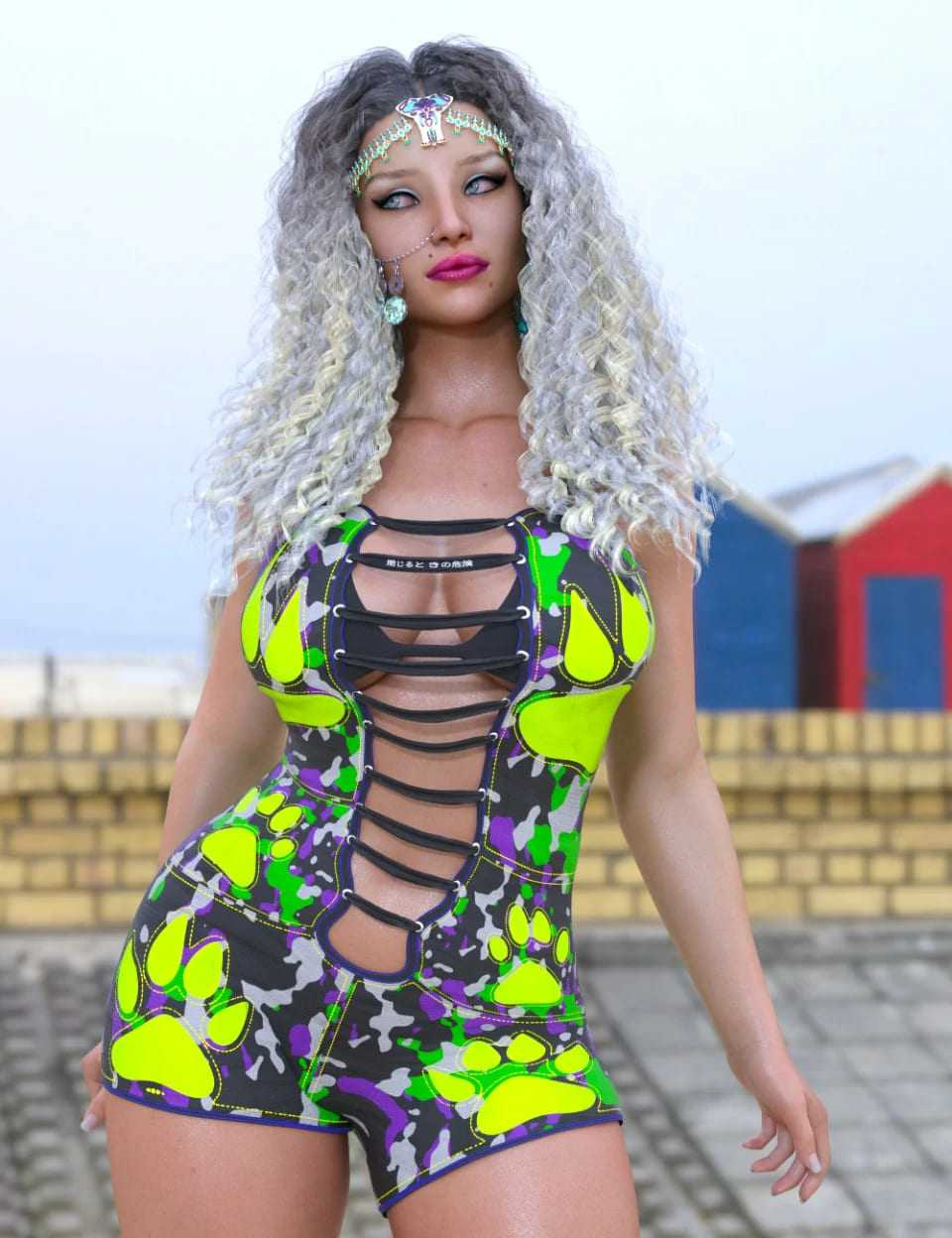 dForce Wild Thoughts Suit for Genesis 8 Female(s)