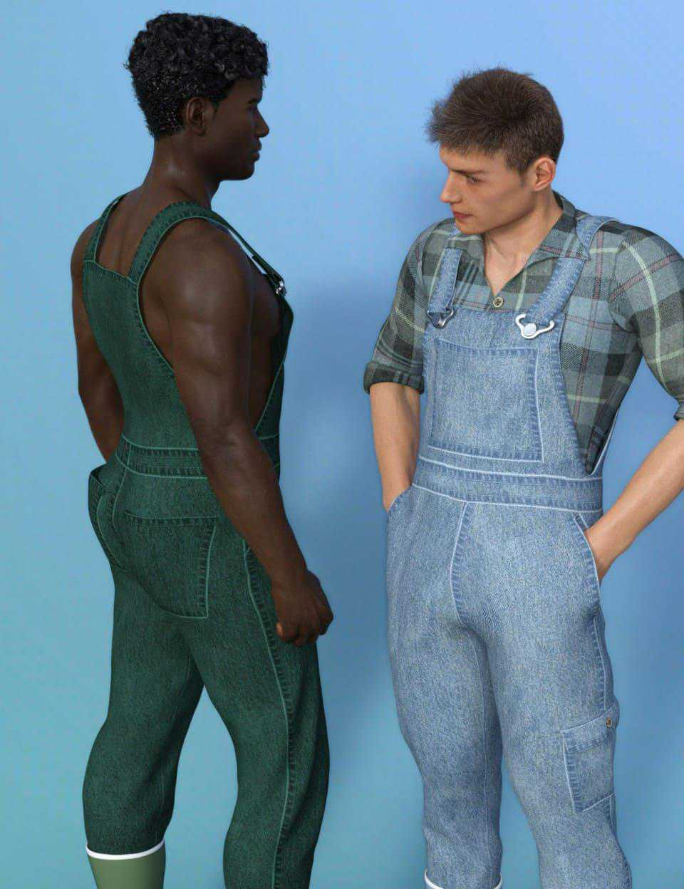 Farmer Clothes for Genesis 8 Male(s)