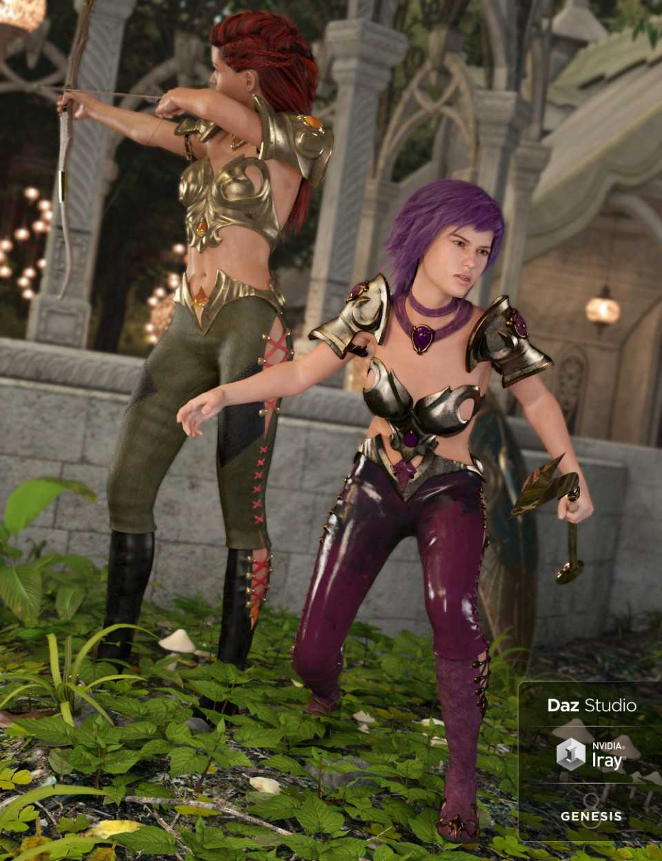 Farshadow Elf Outfit Textures