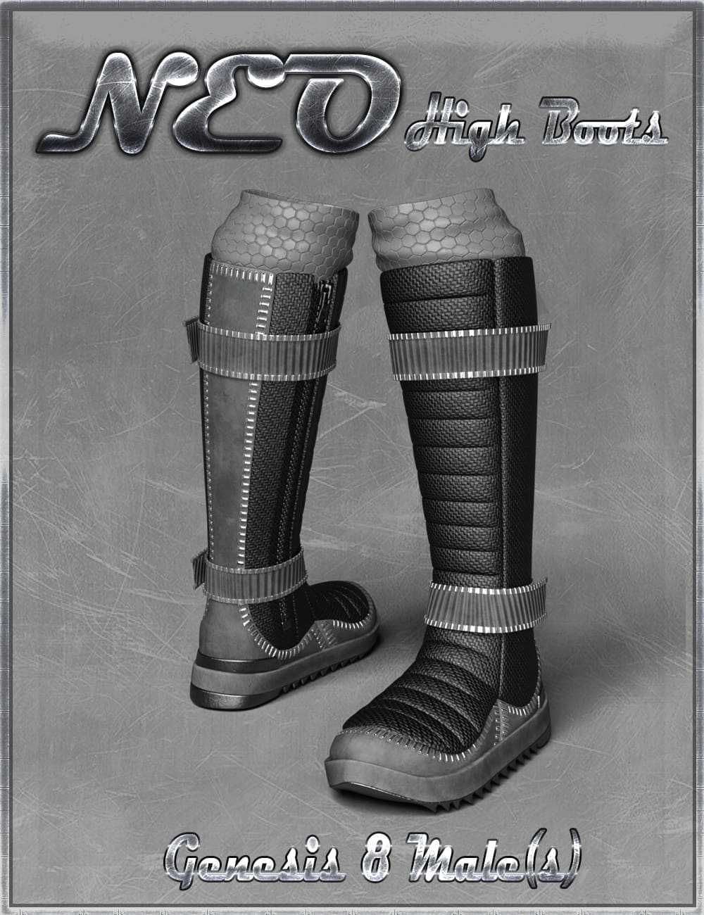 NEO High Boots and High Top Sneaker for Genesis 8 Male(s)