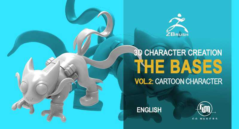 Pet Cartoon Modeling – Master 3D Character Creation Zbrush