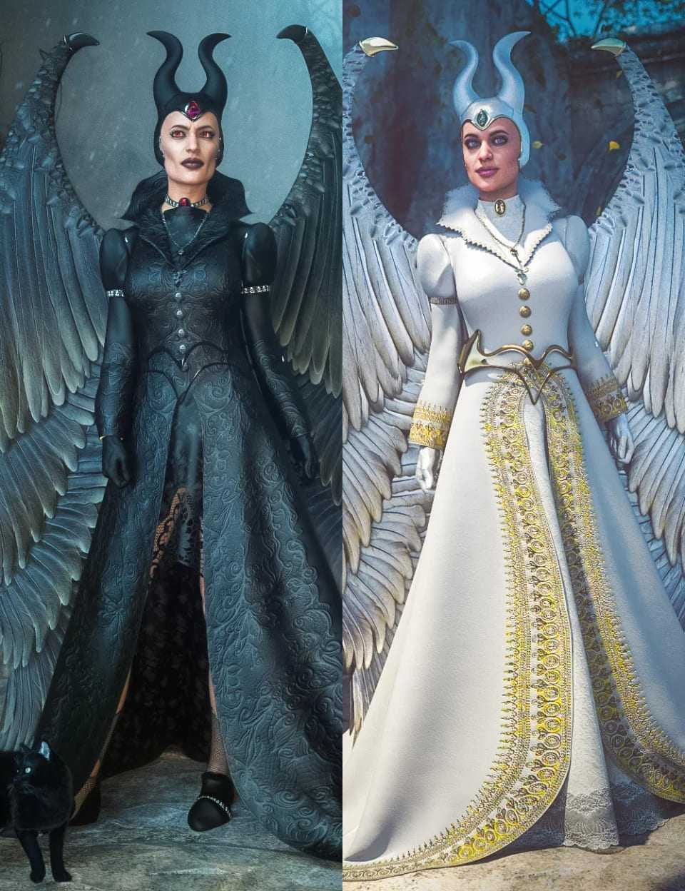 Good and Evil for Universal Dress