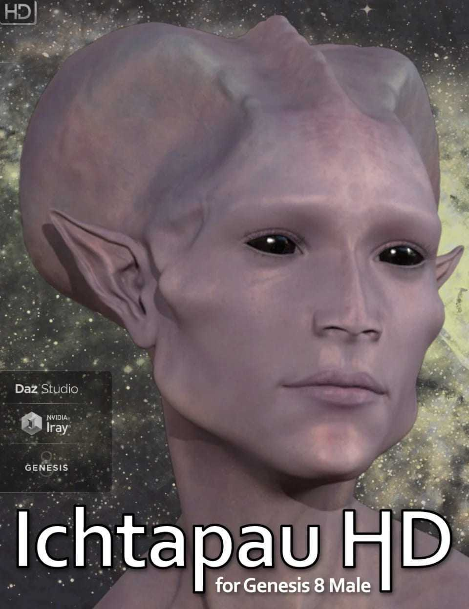 Ichtapau HD for Genesis 8 Male