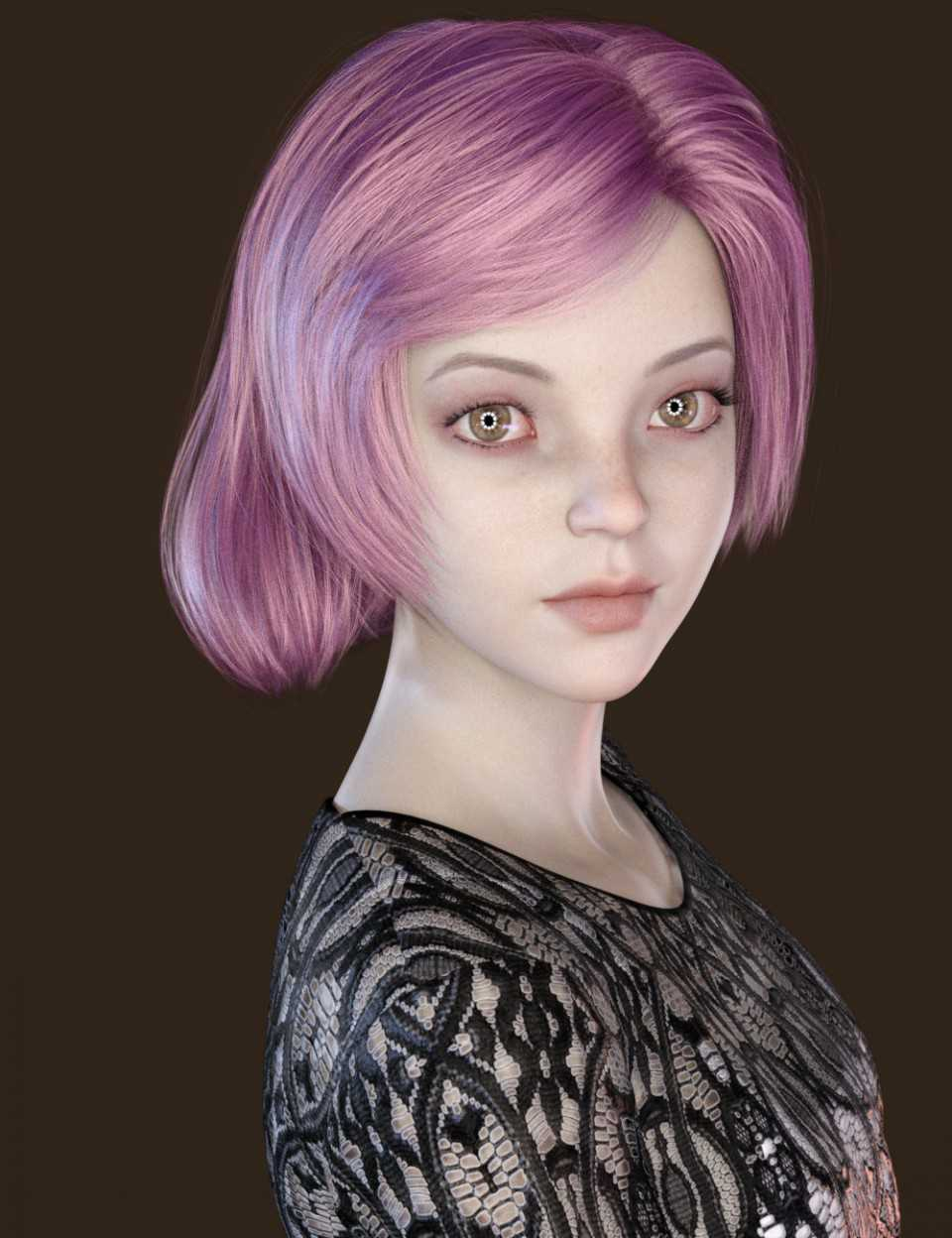 JingLing Character and Hair For Genesis 8 Female(s)