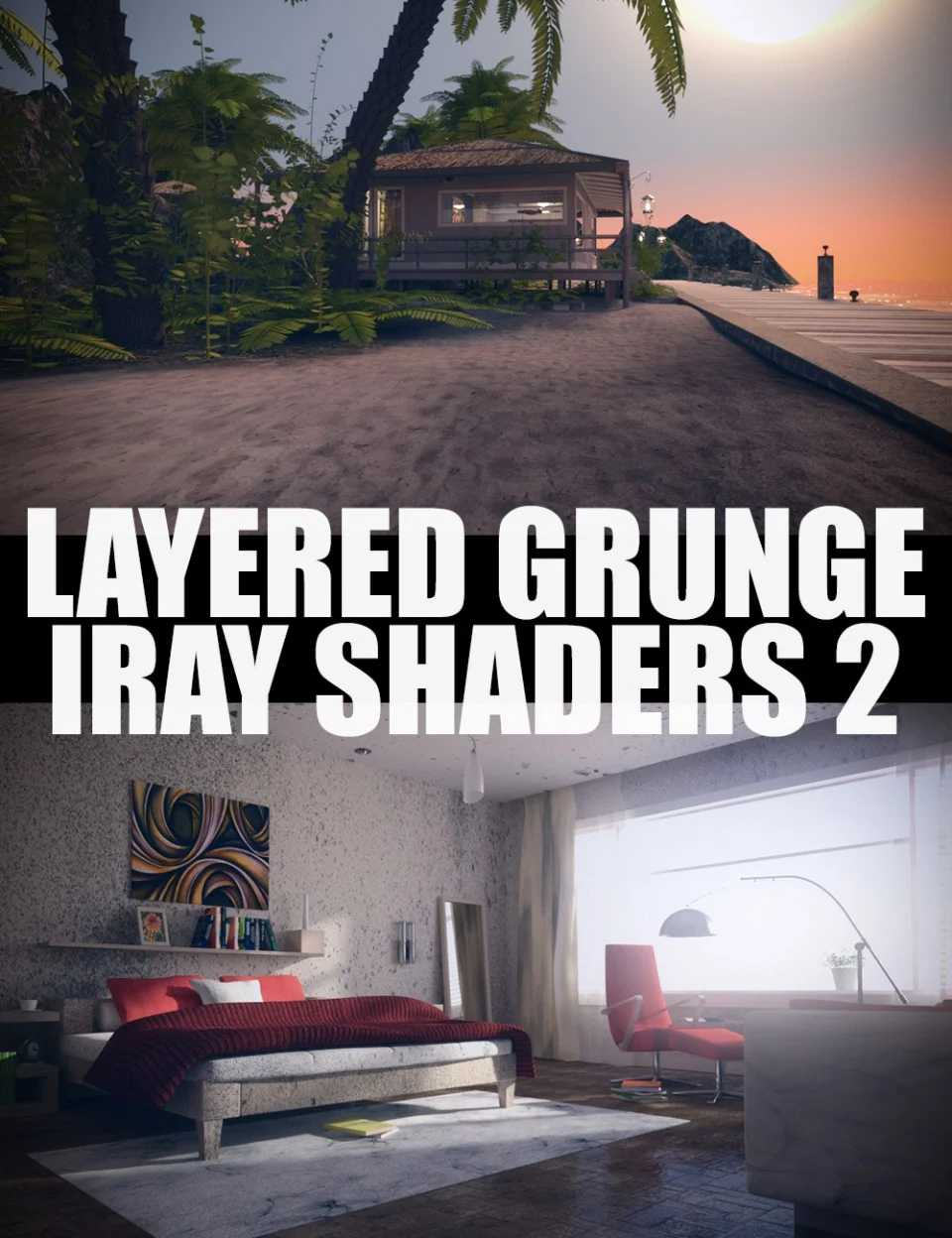 Layered Grunge Iray Shaders 2
