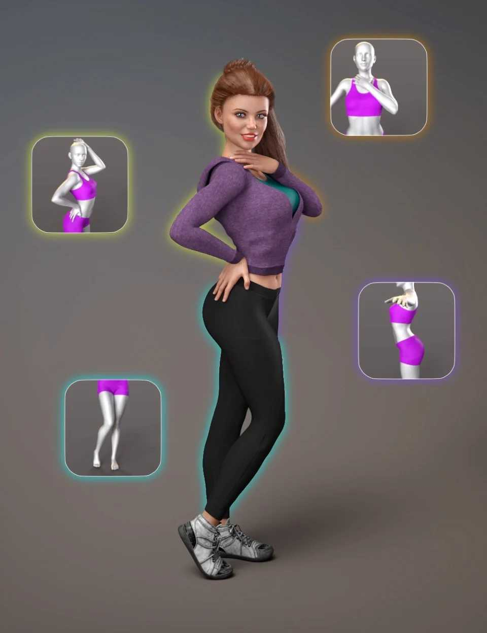 NG Build Your Own Standing Poses – Expansion Pack 1