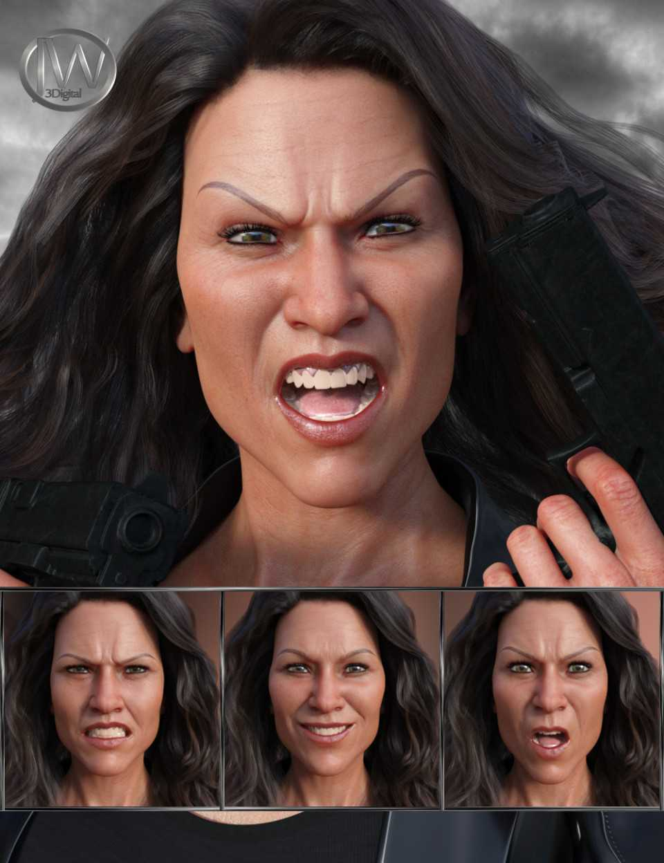 No Mercy – Expressions for Genesis 8 Female and Sydney 8