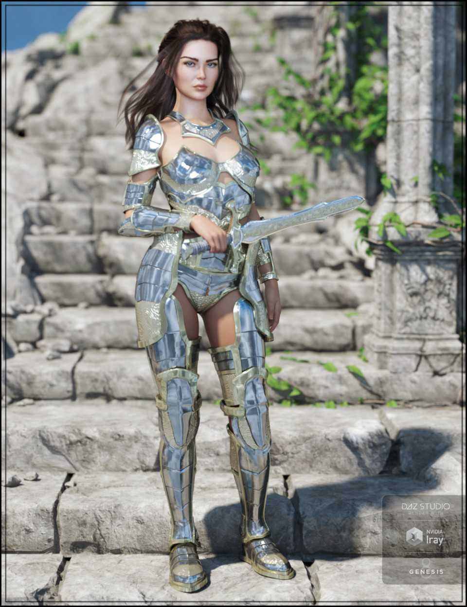 Oracle Armor for Genesis 8 Female(s)