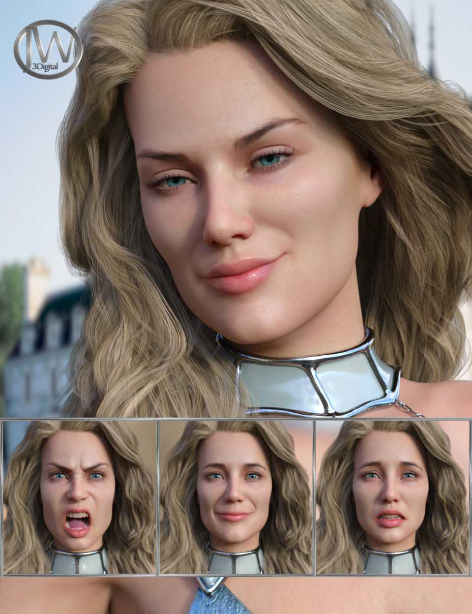 Perfect Goddess – Expressions for Genesis 8 Female and Ellithia 8