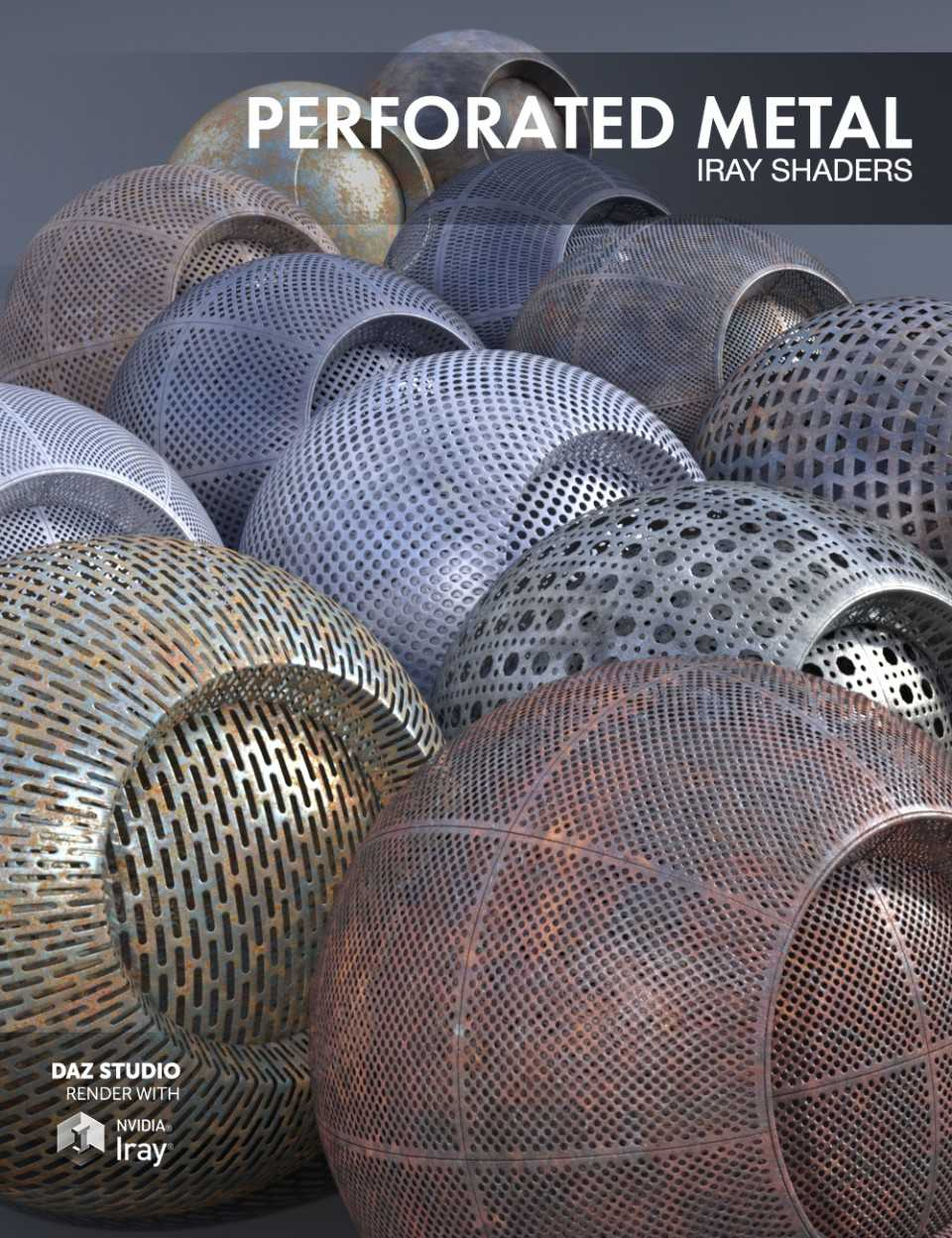 Perforated Metal – Iray Shaders