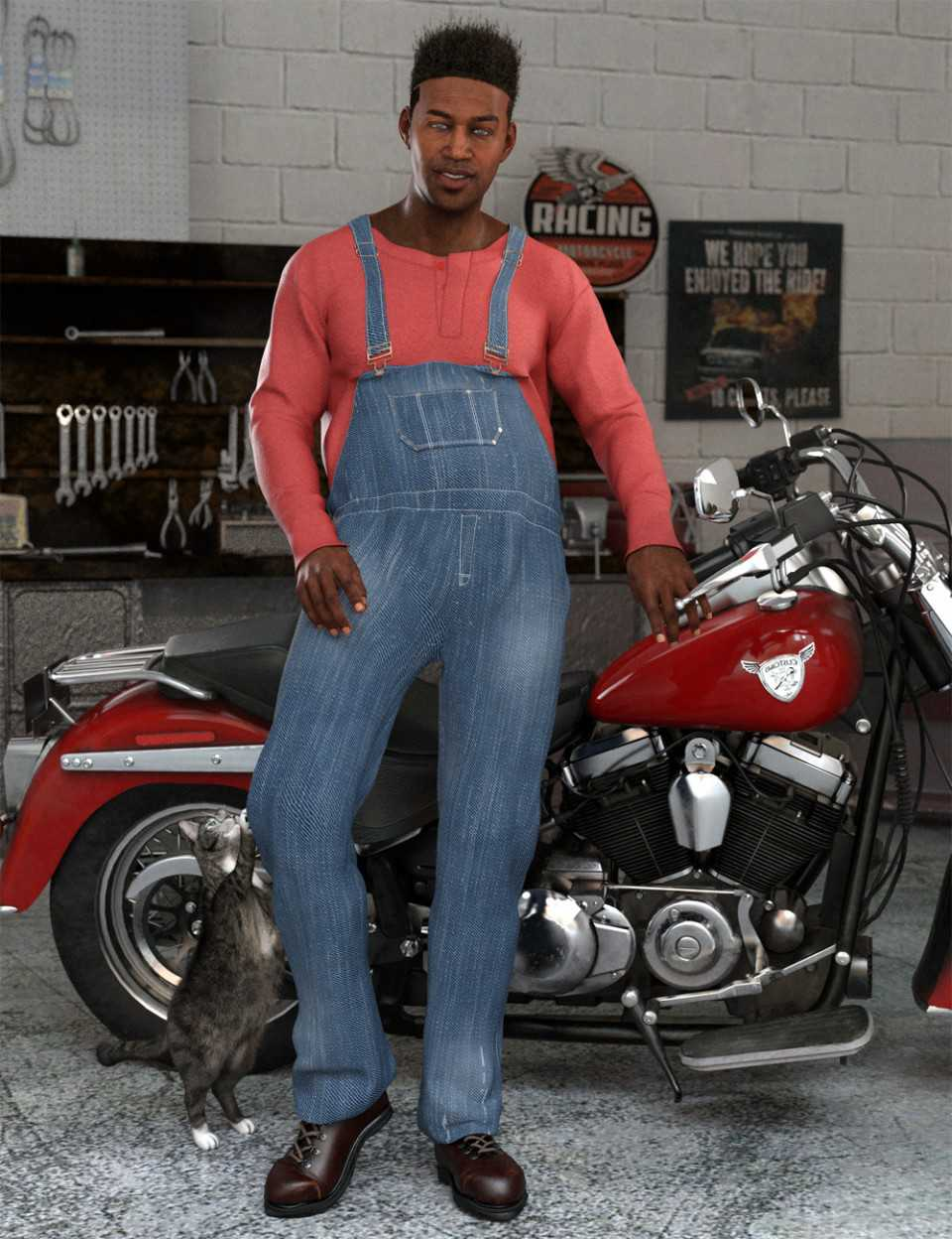 Lift and Haul Outfit for Genesis 8 Male(s)