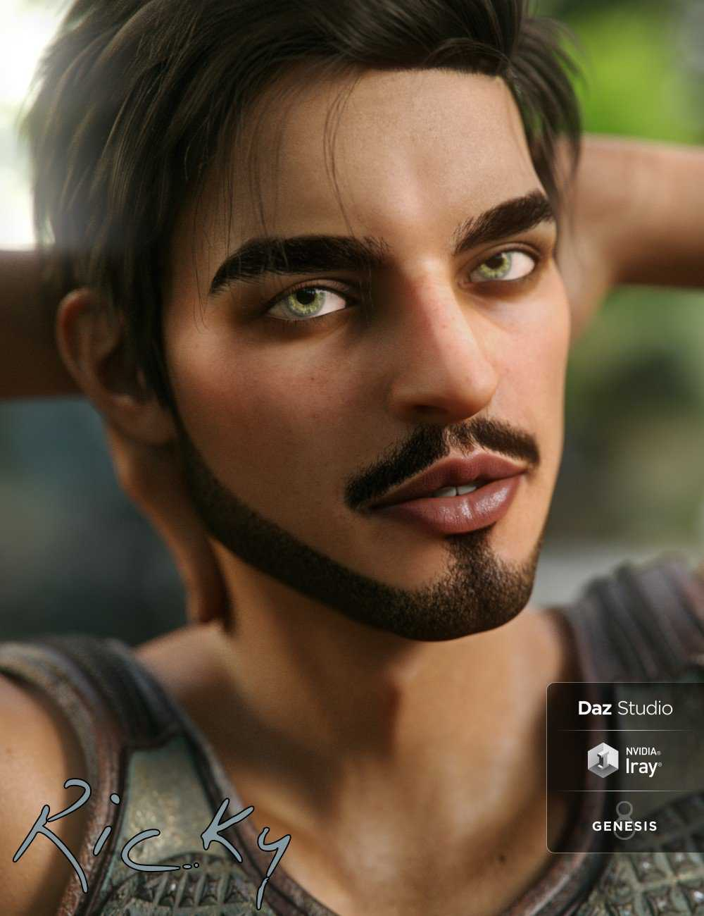 Ricky for Genesis 8 Male
