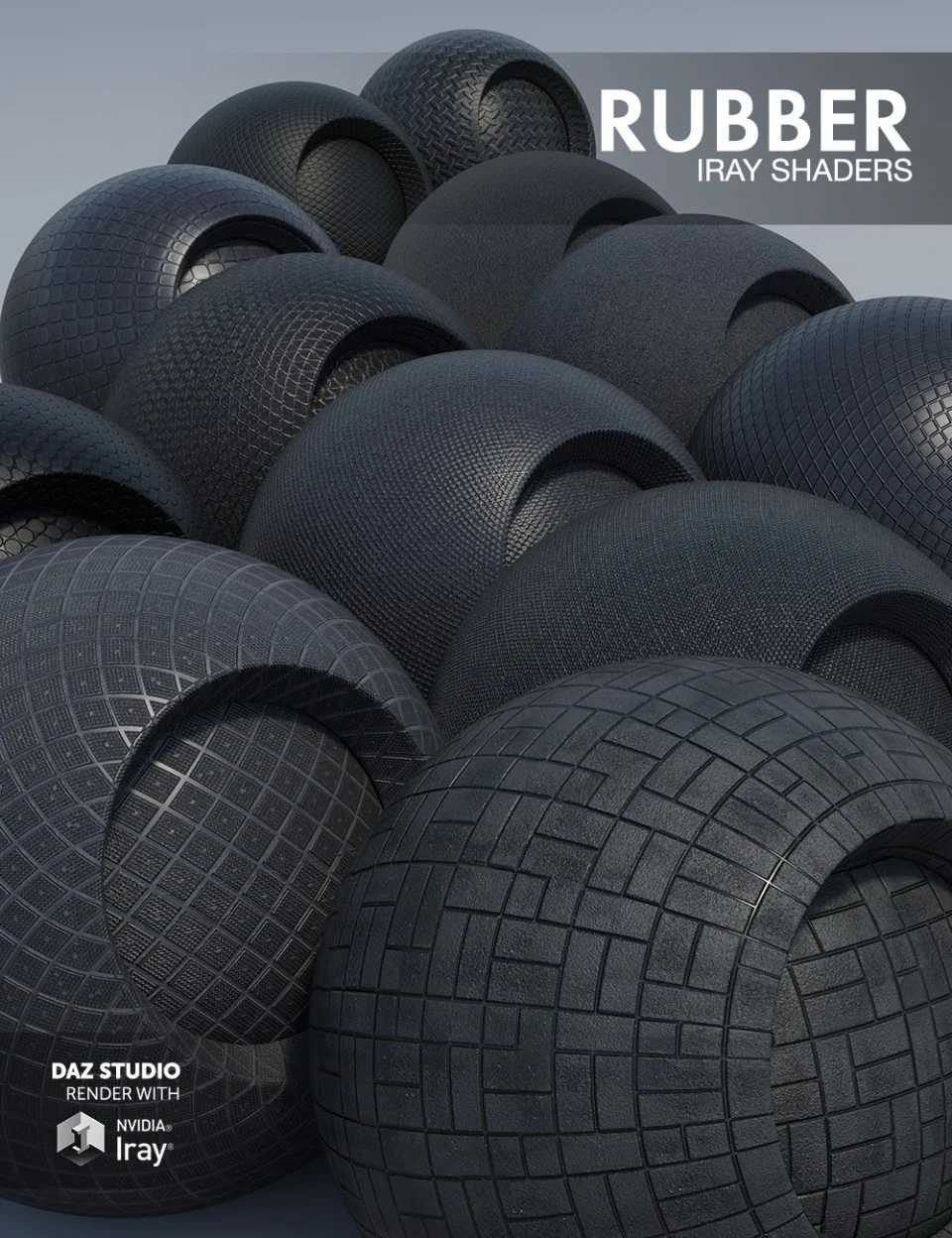 Rubber – Iray Shaders