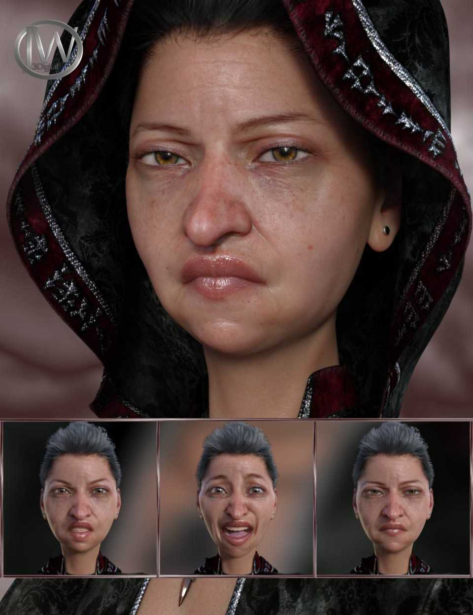 Expressions for Genesis 8 Female and Edie 8