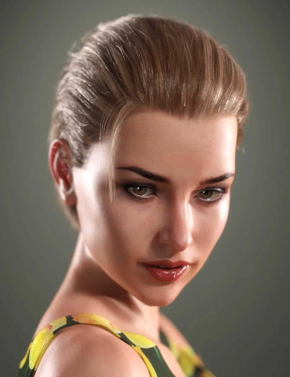 SP Hair 010 for Genesis 3 and 8 Female(s)