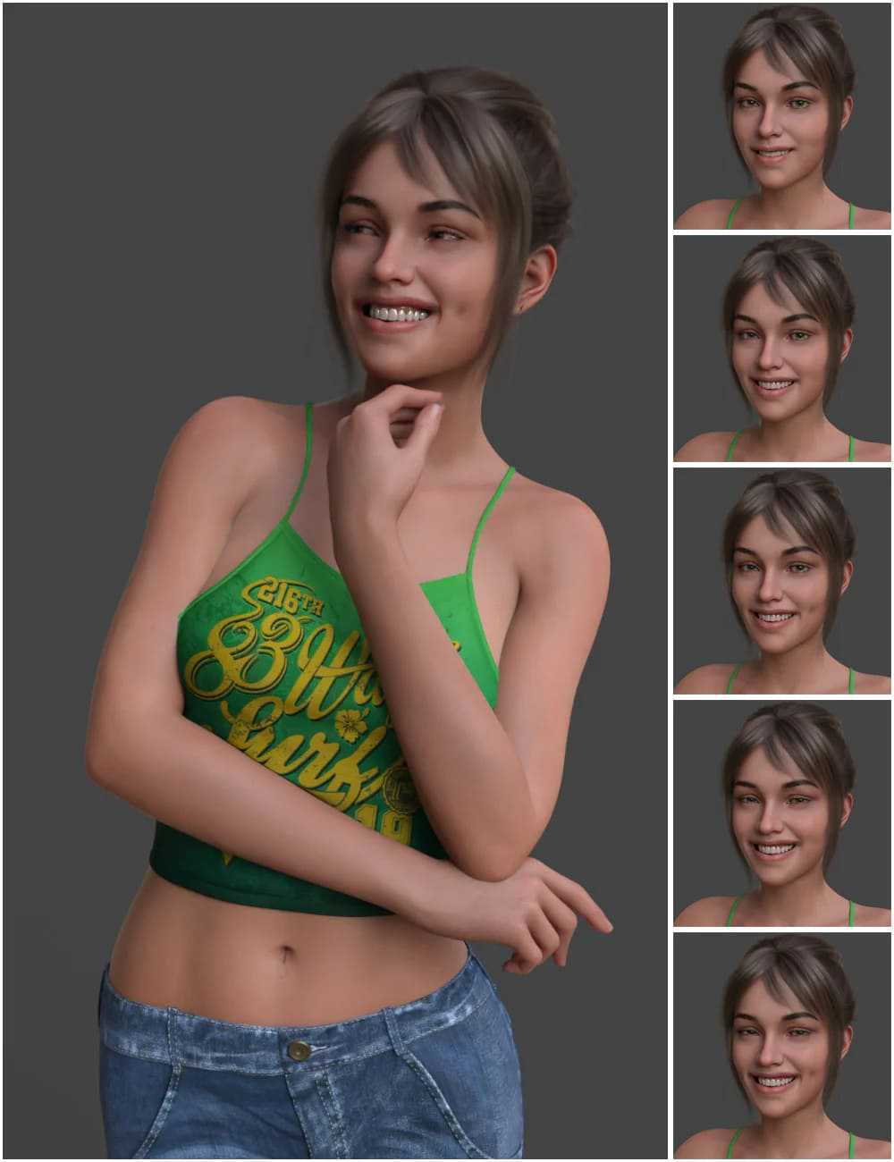 Venus Smile for Genesis 8 Female