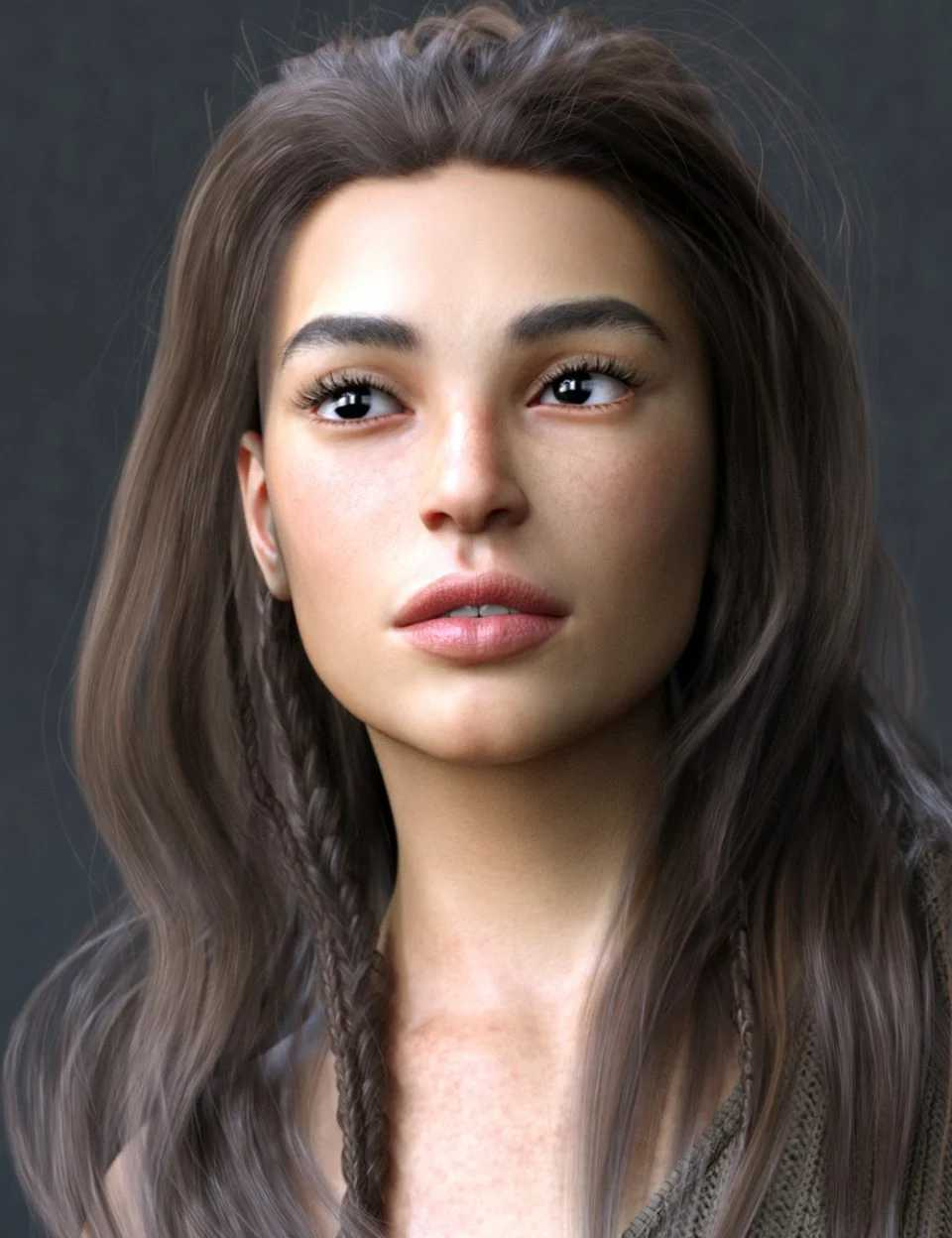 Veronique HD for Genesis 8 Female