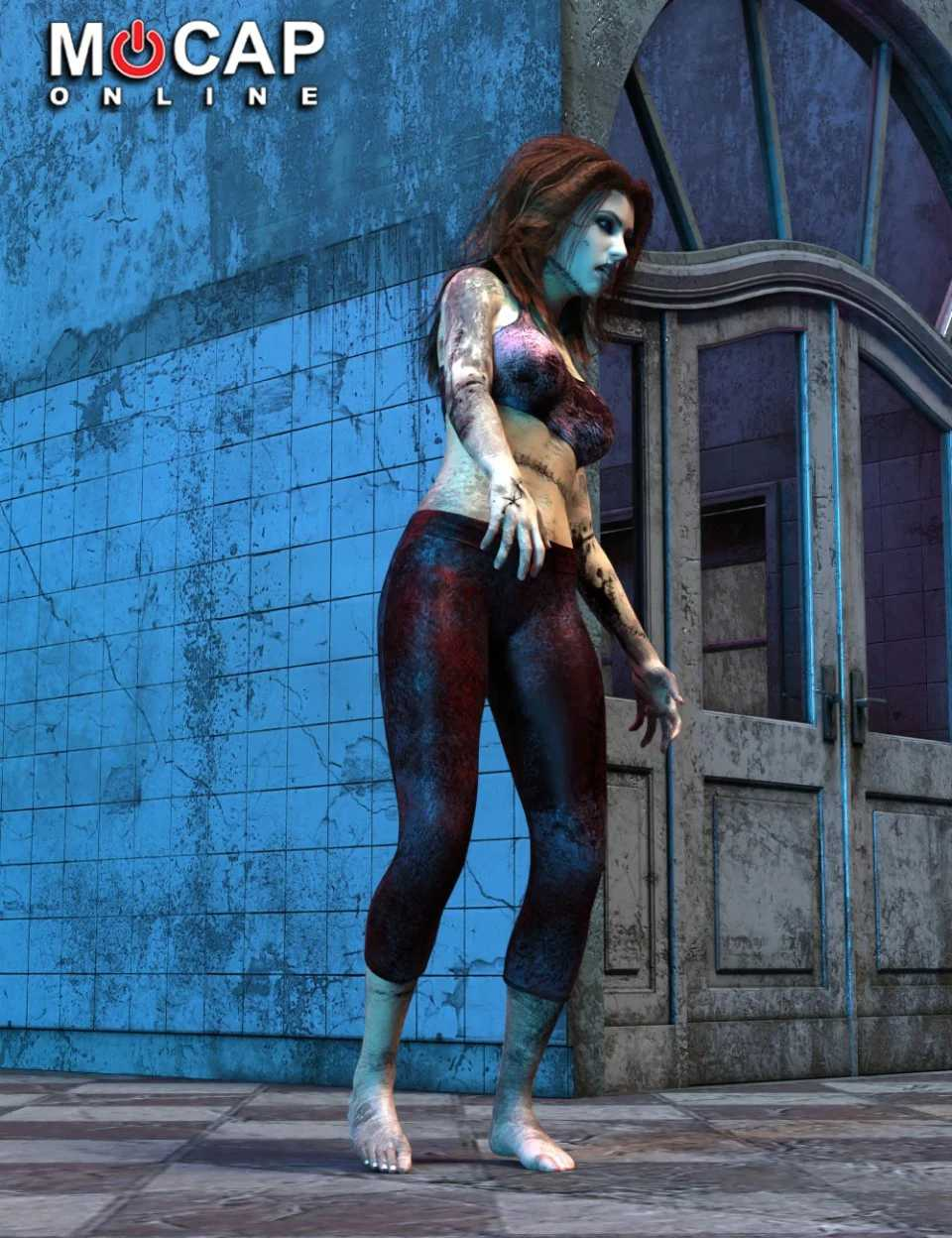 Zombie Animation Collection P1 – Victoria 8