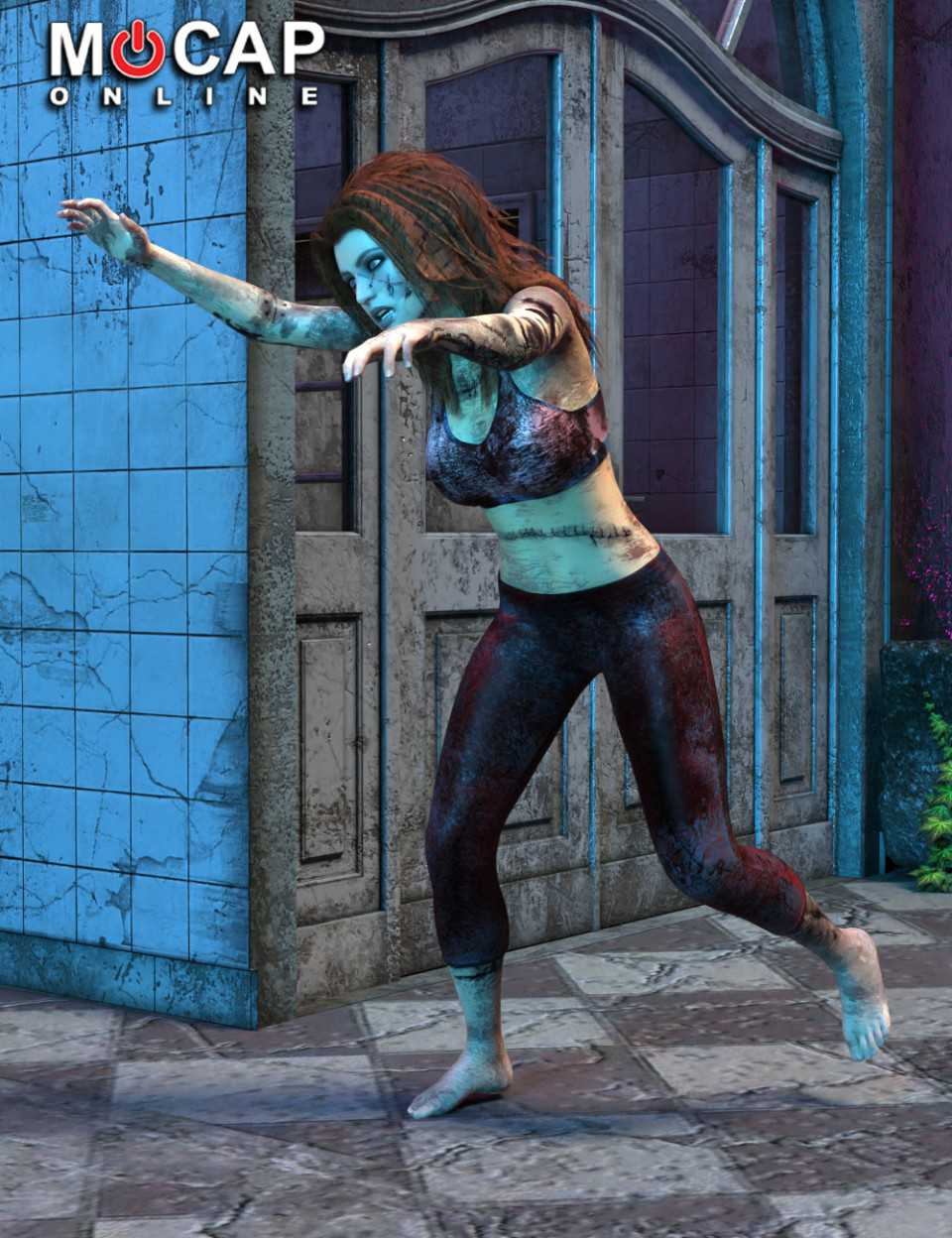 Zombie Animation Collection P2 – Victoria 8
